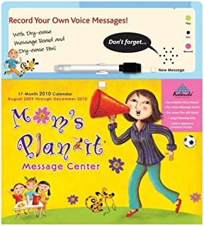 Mom's Plan-It Message Board With Sound 2010 Wall Calendar