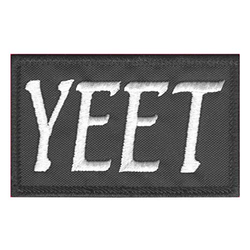 2AFTER1 Yeet Funny 2x3.25 Tactical Morale Army Fastener Patch