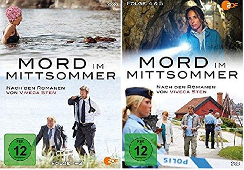 Mord im Mittsommer 1-5 [DVD Set] Folgen 1-5