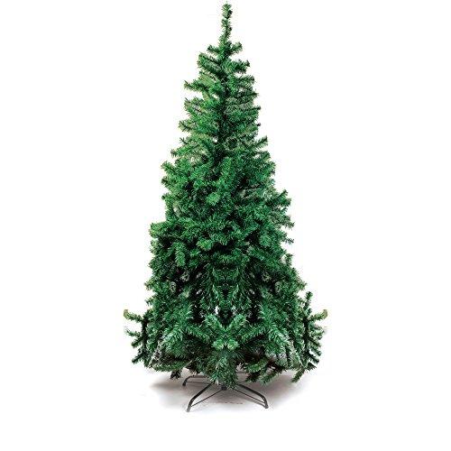 Árvore de Natal com Base Metálica, Portobelo, Verde, 900 Hastes, 2.10m, Cromus