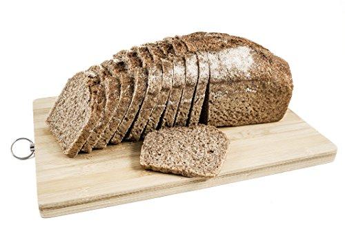 Pan ecológico artesanal con masa madre en horno de leña. Sabor tradicional exquisito. Envío GRATIS 24h. (Pan Integral de Espelta 750gr aprox.)