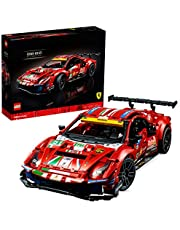 "LEGO 42125 Technic Ferrari 488 GTE ""AF Corse #51"" Super Sports Car Exclusive Collectible Model, Collectors Set for Adults"