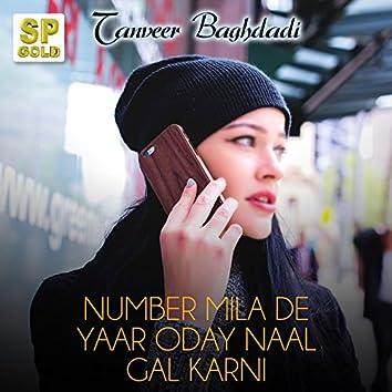Number Mila De Yaar Oday Naal Gal Karni - Single