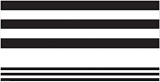 Teacher Created Resources Black & White Stripes Straight Border Trim (5223)