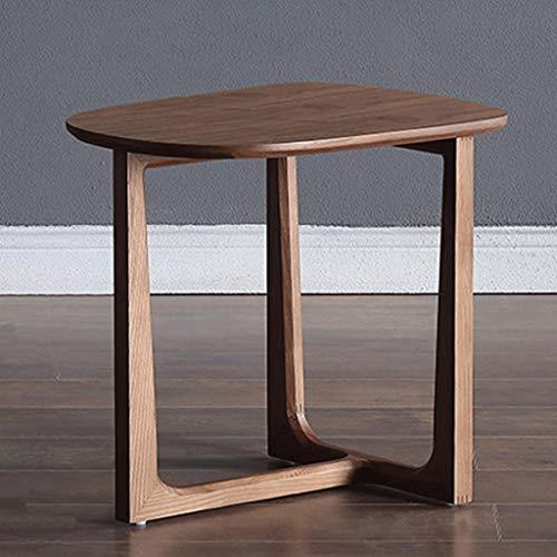 Table d'appoint en Bois Massif Petit café au Chevet Support Multifonctionnel Support à Fleurs Salon Chambre Sofa