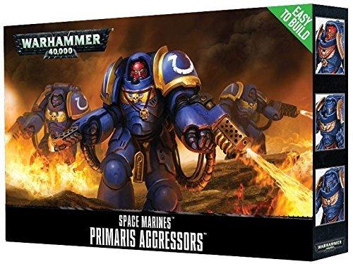Warhammer 40.000: Primaris Aggressors (EASY TO BUILD, Wielders of the Firestorm)