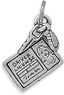 Corinna-Maria 925 Sterling Silver Driver License Charm