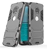 Motorola Moto G6 (2018) Funda, FoneExpert® Heavy Duty Silicona Slim híbrida con Soporte Cáscara de Cubierta Protectora de Doble Capa Funda Caso para Motorola Moto G6 (2018)