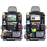 Organizador de asiento trasero de coche para niños Ampliación de la tela de Oxford Ahorro de espacio del coche bolsa de almacenamiento de coches auto del tronco asiento trasero organizador Poseedor