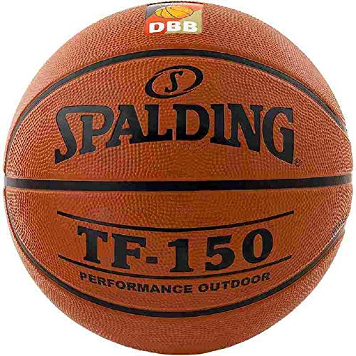 Spalding DBB TF 150 Outdoor Basketball (7, orange)
