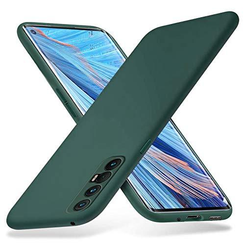 Richgle Oppo Find X2 Neo 5G Hülle, Dünn Weich TPU Silikon Hülle Handyhülle Schutzhülle Hülle für Oppo Find X2 Neo 5G (6.5