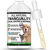 The Healthy Dog Co Calmant en Gouttes pour Chiens et Chats | 50-100 Doses | Tranquillisant et Anti-Stress pour Animaux