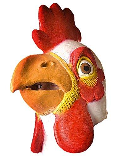 Gmasking 動物マスク 鳥マスク コスチューム用小物 天然ゴムラテックス製