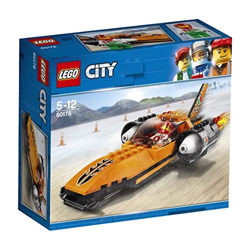 LEGO City 60178 - Starke Fahrzeuge Raketenauto, Konstruktionsspielzeug