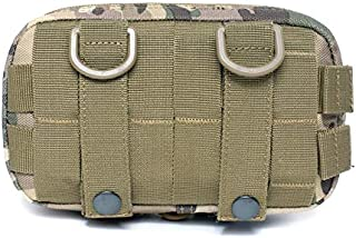 ZMP Outdoor Multi-Function Casual Pockets Tactical Diagonal Camouflage Bag Accessory Kit (Color : E, Size : 6 * 11 * 19cm/2.4 * 4.3 * 7.5in)