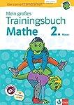 Klett Mein großes Trainingsbuch Mathematik 2. Klasse: Der komplette Lernstoff. Mit Online-Übungen und Belohnungsstickern (Die kleinen Lerndrachen)