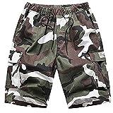 Pantalones Cortos de Trabajo de Verano para Hombres Shorts Hombre...