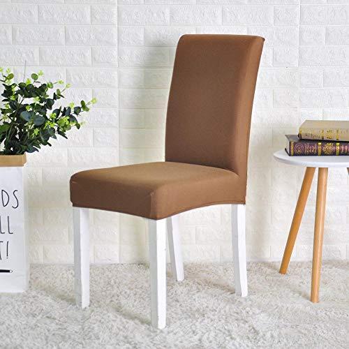 1pc Spandex Dining Chair Schonbezug Elastic Printing Modern Abnehmbare Anti-Dirty Kitchen Seat Case Stretch Stuhlbezug für Bankett universelle Farben18