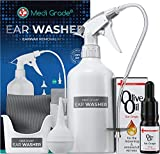 Set para Limpiar Oídos, Frasco 500 ml + Jeringa Grande y Conos para los Oídos + Gotas de Aceite de...
