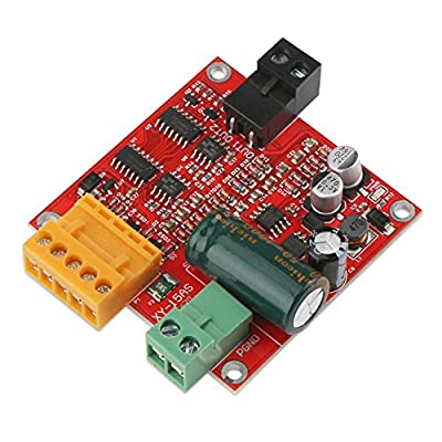 DC Motor Controller, DROK Linear Actuator Control Board, 12V 24V 36V Motor Speed Control, 12A High Power Industrial PWM Electric Motor Drive Regulator Module
