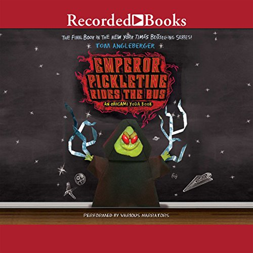 Emperor Pickletine Rides the Bus audiobook cover art