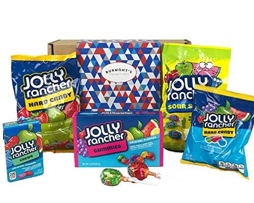 Jolly Rancher American Candy Auswahl Geschenkbox - Behindern Exklusive Burmont's