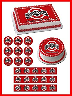 Best ohio state cupcake toppers Reviews