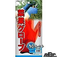 菜果グローブ オレンジ(M) 4313-M