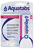 Aquatabs Water Purification Tablets for Camping and Emergency...