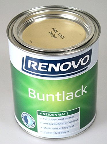 Seidenmattlack Beige seidenmatt RAL 1001 - 750 ml