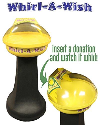 Whirl-A-Wish Coin Vortex Funnel Spiral Wishing Well Vortex - Fund Raising - Non-Profits, Schools, Churches, Youth Groups, Clubs