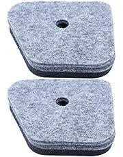 Haishine 2Pcs Filtro de Aire para STIHL FS90 FS100 FS110 FS130 4 Mix Engine # 4180-120-1800