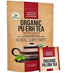 Pu Erh organic tea for best weight loss