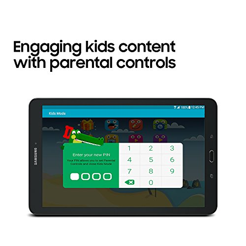 Samsung Galaxy Tab E 9.6; 16 GB Wifi Tablet (Black) SM-T560NZKUXAR