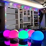 SELFILA RGBW DIY Decorative Light 20 Bulbs,Color Changing LED Strip Lights with Remote for Home Lighting Kitchen Bed Letter Lights Sign for Bar Home Decoration