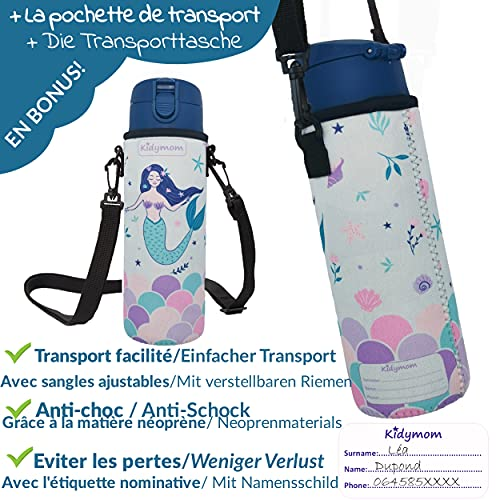 KIDYMOM Cantimploras y botellas de agua
