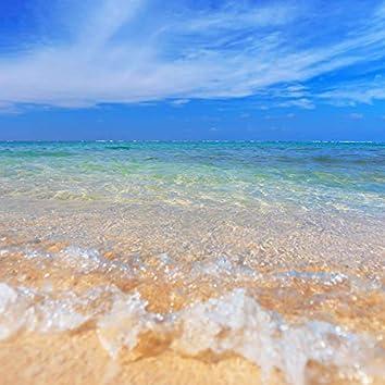 The sound of waves. Sandy beach. ASMR sound.