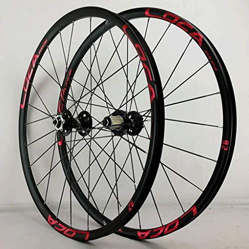 ZLYY Juego de ruedas de bicicleta de 26 pulgadas MTB de disco...