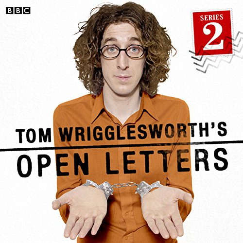Tom Wrigglesworth's Open Letters audiobook cover art