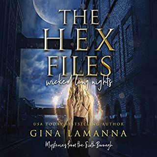 The Hex Files: Wicked Long Nights audiobook cover art