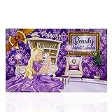 accentra Calendario de Adviento de Princesa para niñas, con 24 Productos de Maquillaje, Belleza, cosméticos y Joyas para una época de Adviento variada y Elegante