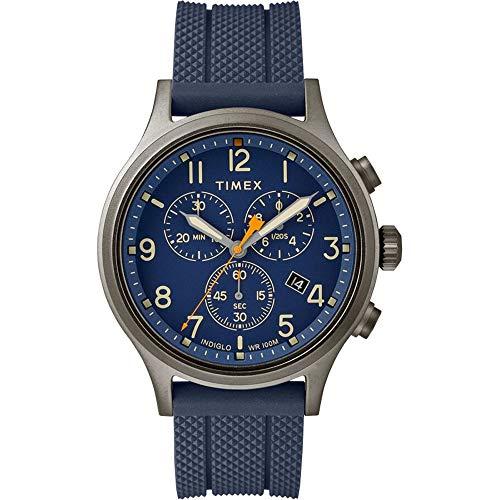 Timex Orologio Analogico Quarzo Uomo con Cinturino in Silicone TW2R60300VQ