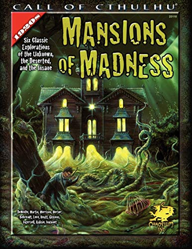 Mansions of Madness: Six Classic Explorations of the Unknown, the Deserted, and the Insane