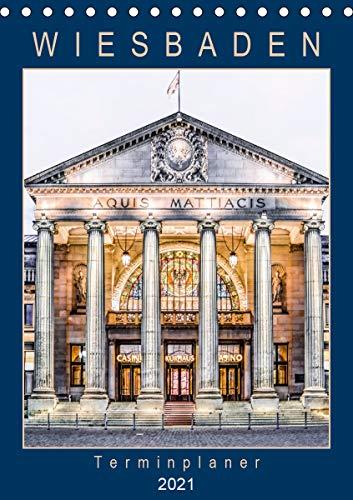 Wiesbaden Terminplaner (Tischkalender 2021 DIN A5 hoch)