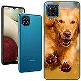 Personaliza tu Funda [Samsung Galaxy A12 / M12] de Silicona Flexible Transparente Carcasa Case Cover de Gel TPU para Smartphone