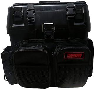 Tronixpro Seat Box Rucksack Caja de Aparejos de Pesca, Unisex Adulto, Negro, Talla única