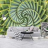 HUATULAI Mural Fondo pantalla 3D Nórdico Pintado A Mano Planta De Aloe Vera Sala De Estar Dormitorio Fondo Papel Tapiz Mural