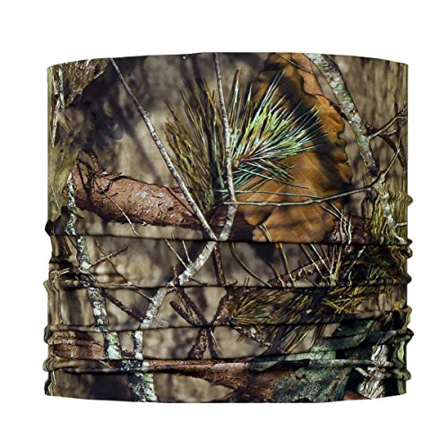 Turtle Fur Comfort Shell Lite UV Totally Tubular Upper Half Breathable Face Mask Bandana Neck Gaiter, Mossy Oak Break-Up Country