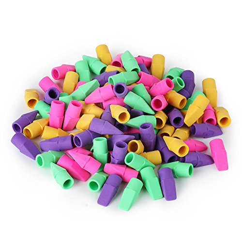 Mr. Pen - Pencil Erasers, Pencil Top Erasers, 120 Pieces Cap Erasers, Eraser Tops, Pencil Eraser Toppers, School Erasers for Kids, School Supplies for Teachers, Eraser Pencil, Earasers, Eraser Caps