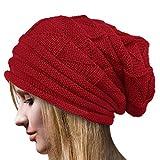 Tuopuda Crochet Invierno Gorro Punto Caliente Cozy...